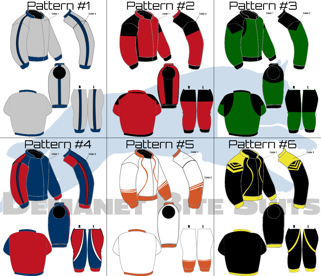 Bite Suit Patterns